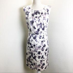 Ann Taylor silk sheath dress